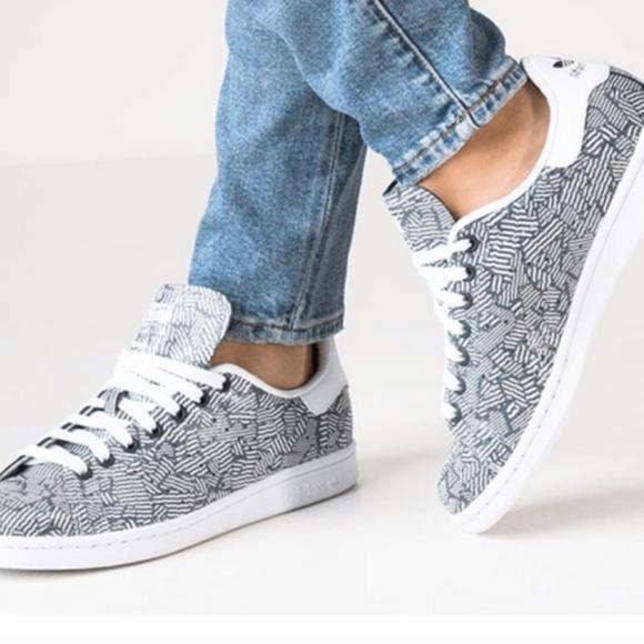 adidas stan smith geometric
